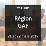 2015 - GAF GAM - Compétition Régionale - 21 et 22 Mars