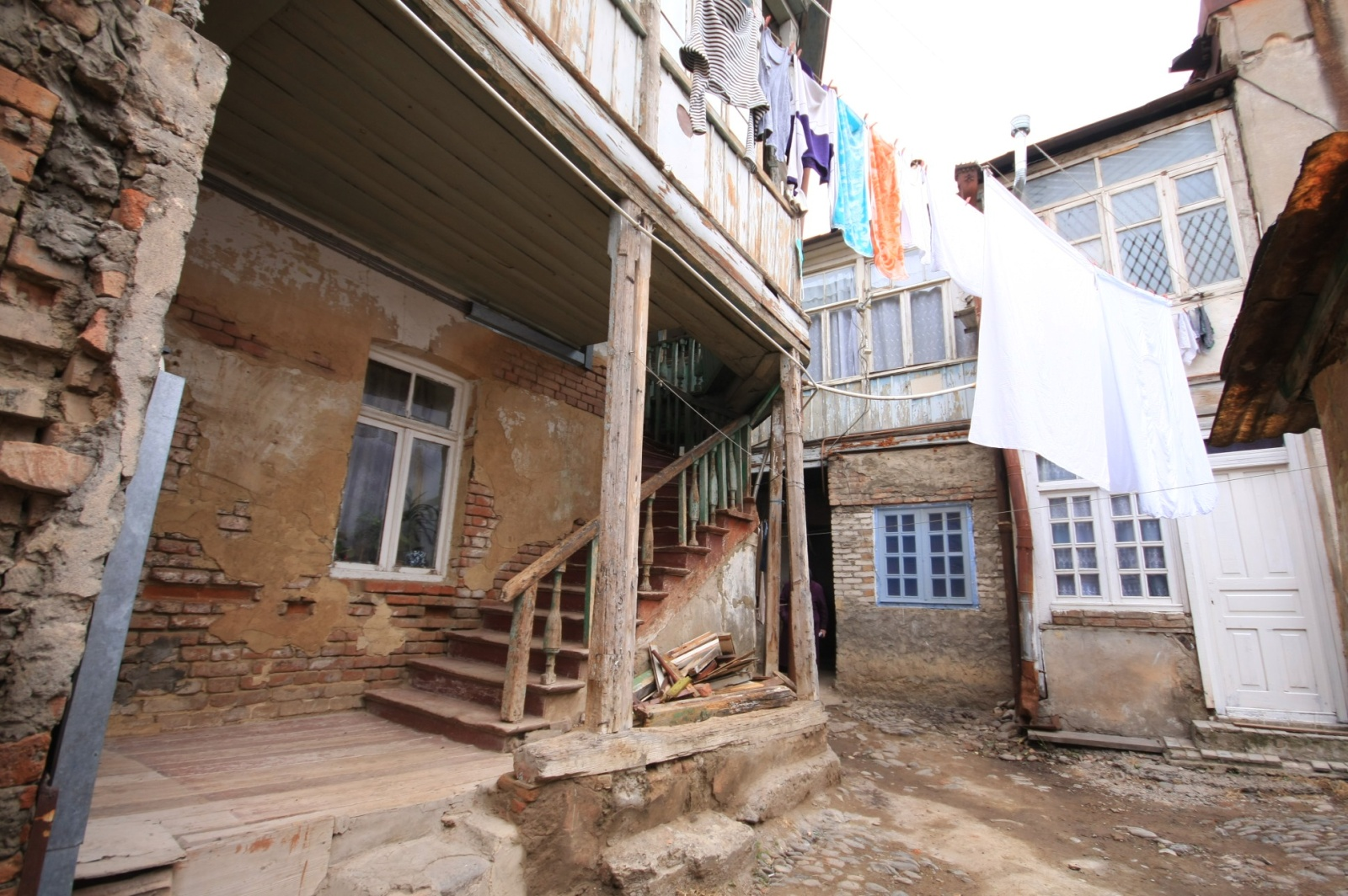 Typical home in Avlabari district of Tbilisi
