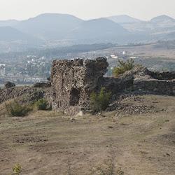 Крепостта Хисара при село Вишеград