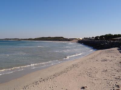 The beach at Port Denison