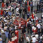 Kimi Raikkonen to the grid, Ferrari F2007