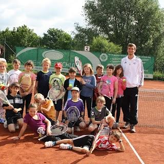 Aktion Schule und Tennis am 14. und 21.06.2012