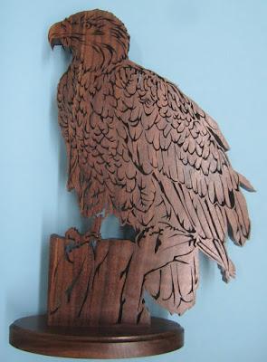 Bald Eagle #2 Jacob Fowler Birds of Prey  SSWC #68
