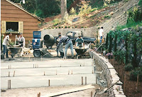 1996 - Working on side of Temple 3