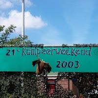 Kampeerweekend 2003