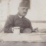 Dr. Lux Gyula a losonci 25. közös gyalogezred tartalékos hadnagya volt
