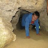 Jeskyňky těsně pod vrcholem Koukolovy hory