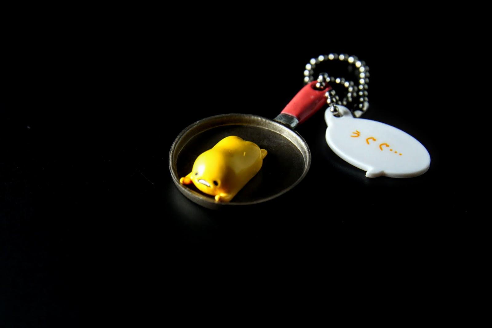 平底鍋上的蛋黃哥