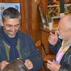 Nicolas WADIMOFF en pleine discussion lors de l'apéro