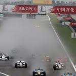 Start of the 2006 Chinese F1 GP