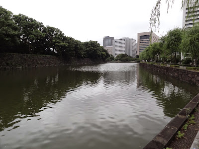 The moat around the Imperial Palace