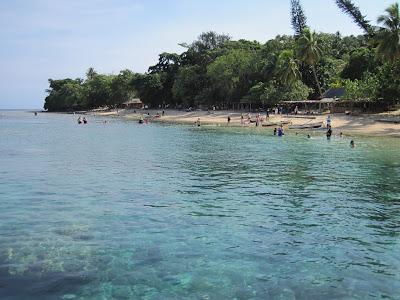 The beach on Wala