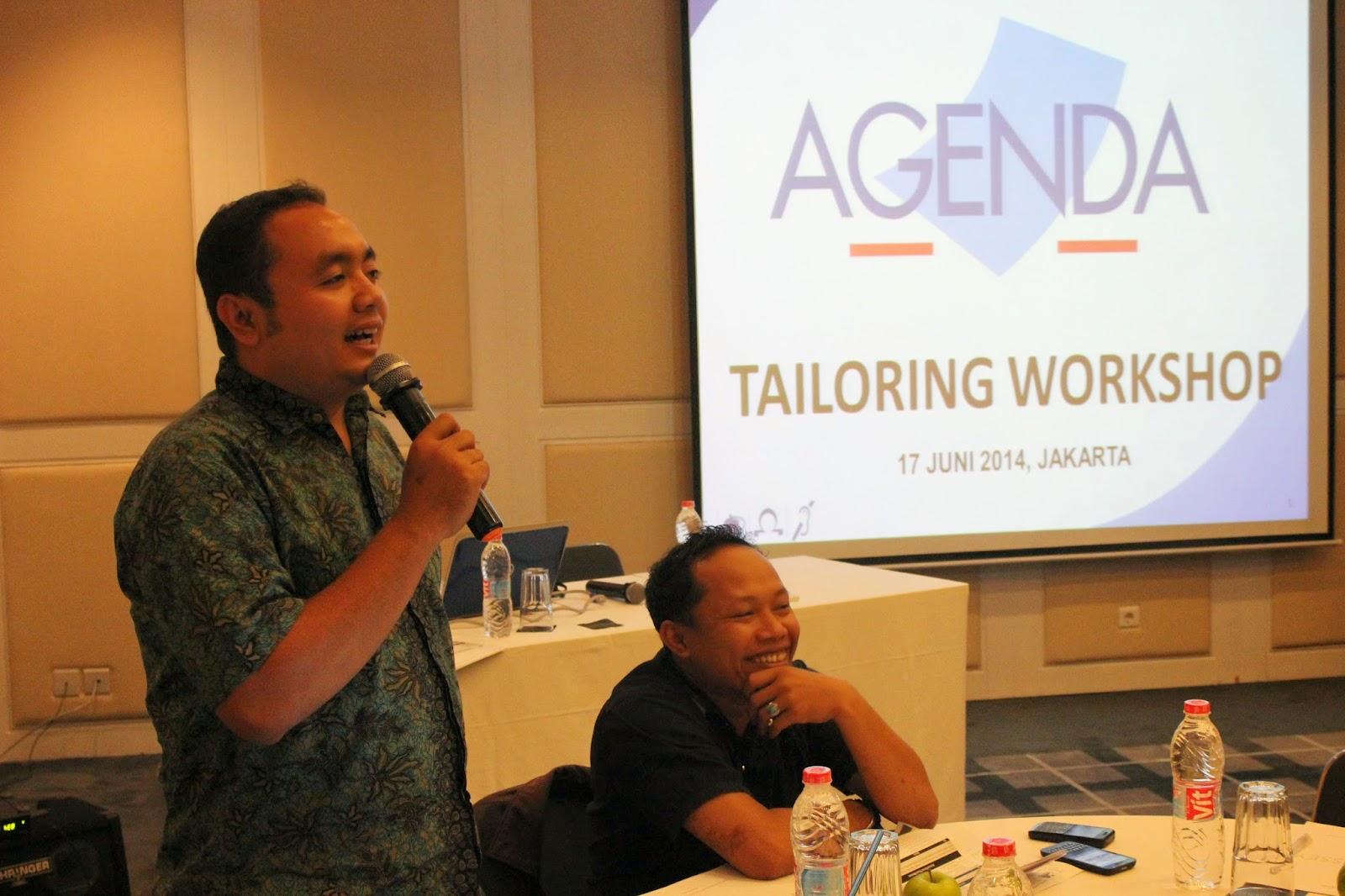 M. Afif AGENDA JPPR Program Manager on Chechklist Tailoring Workshop 17 June 2014