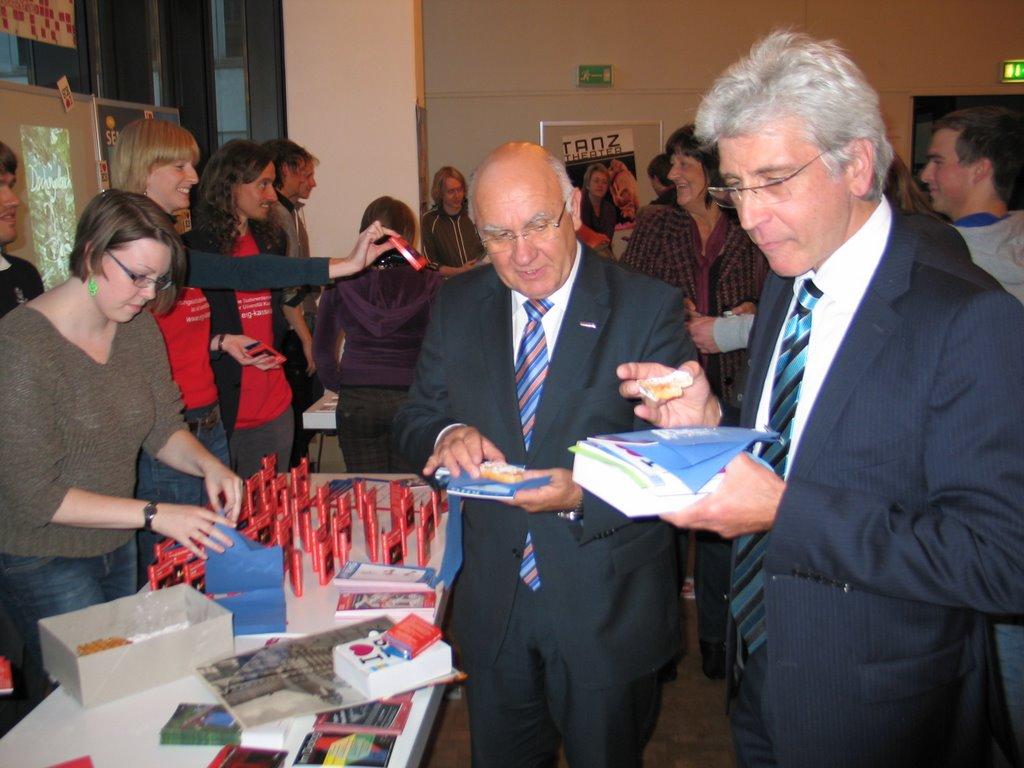 Erstsemsterbegrüßung Rathaus Wintersemester 2009