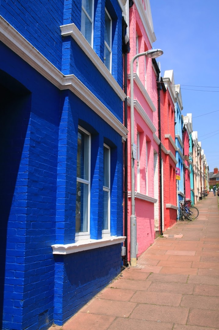 Close to Ashton Rise, where you can park for free in Brighton!