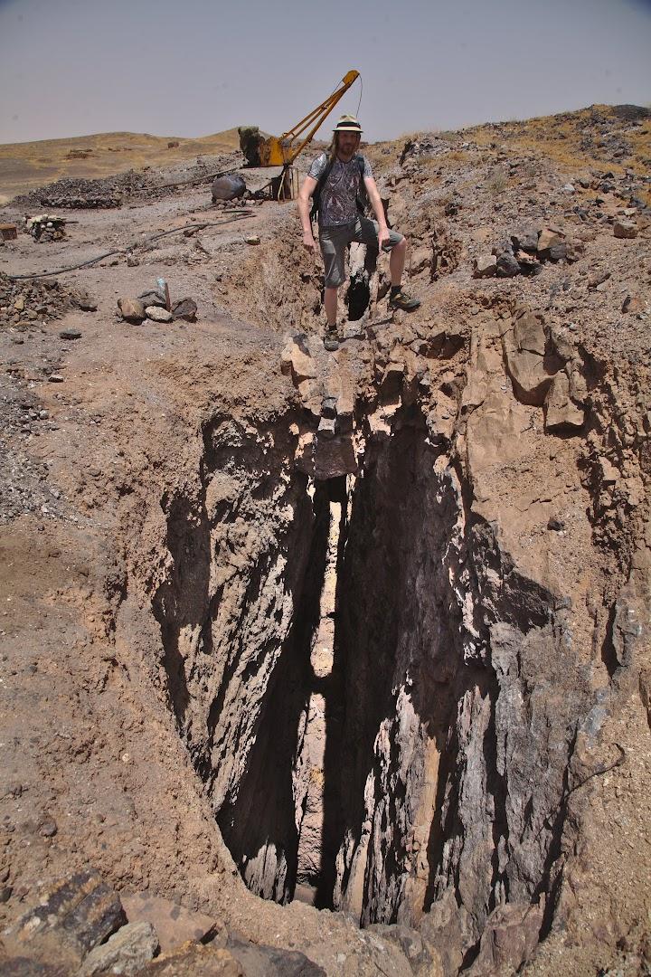 Coal mine, very deep