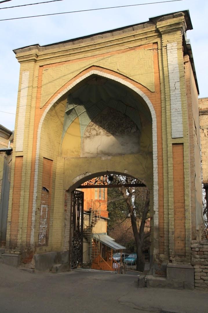 In Tbilisi, you often encounter Arabic influence