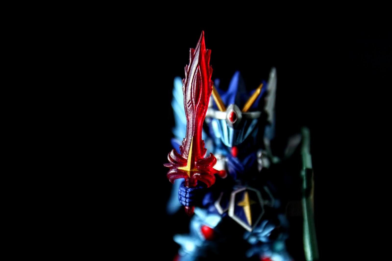 三神器之一的炎之劍, 可惜拿到的這組有點彎