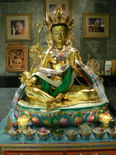 Red Tara statue, FPMT International Office, Oregon, USA