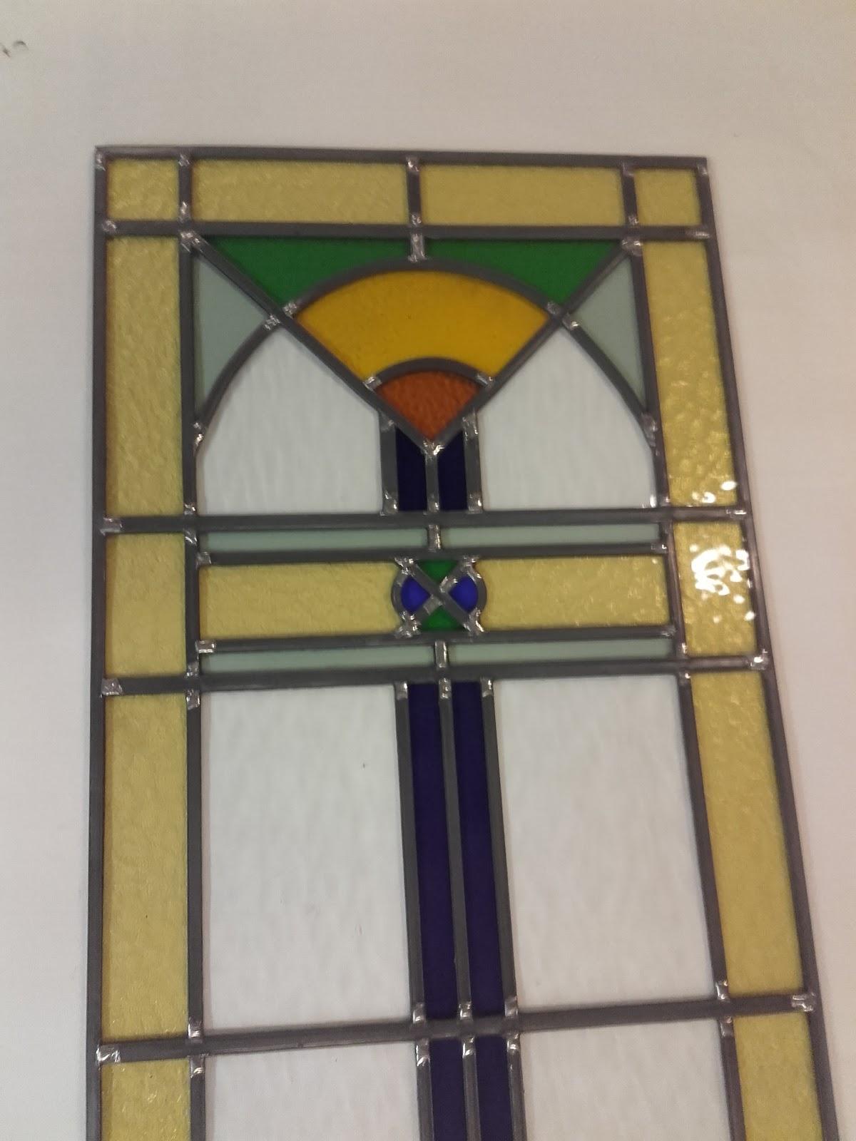 Glas in lood bestelling Art Deco