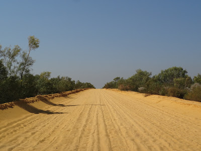 26km each way on this to get into the heart of Kalbarri National Park