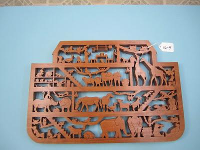 Noah's Ark by Shella Polhemus Red Oak