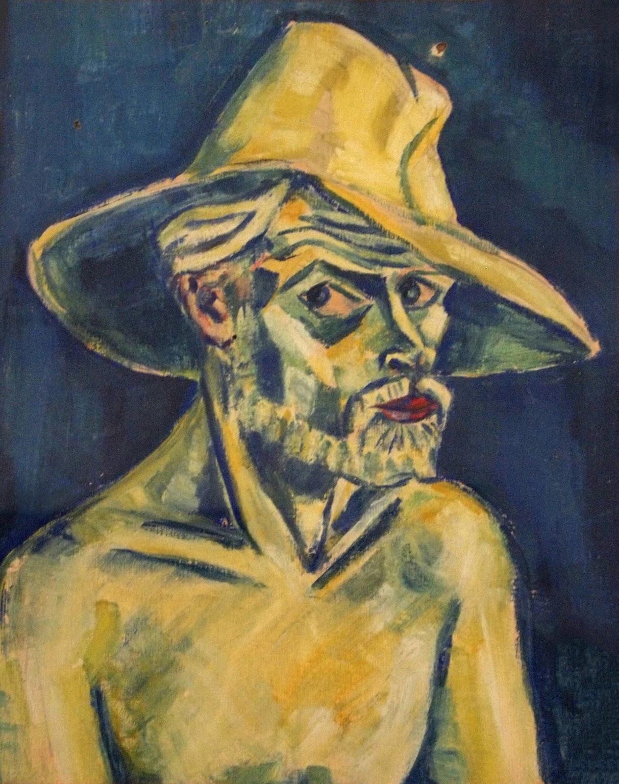 self portrait, undated