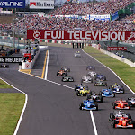 Start 2001 Japanese F1 GP