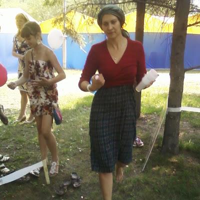"""Кристина Иванова, активист ННСКП, которая осуществляет партнерство """"Ассоциации Босоногих"""" и магазина """"Джаганнат"""""""