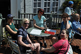 Lunch in Clare on the Suffolk weekend