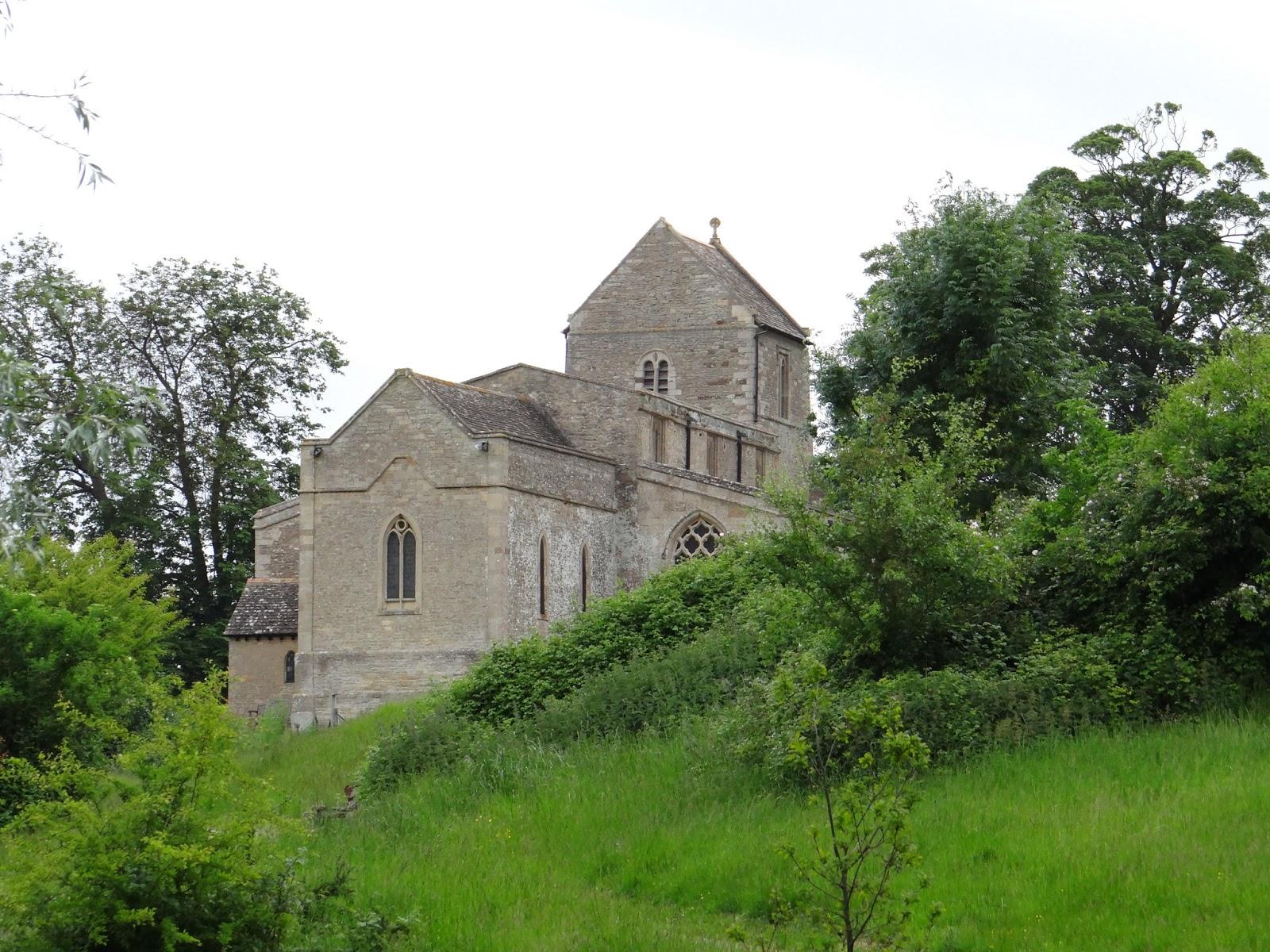 Wadenhoe Church