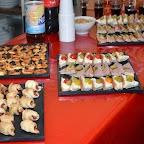 Délicieux mini buffet concocté par le staff du Royal !