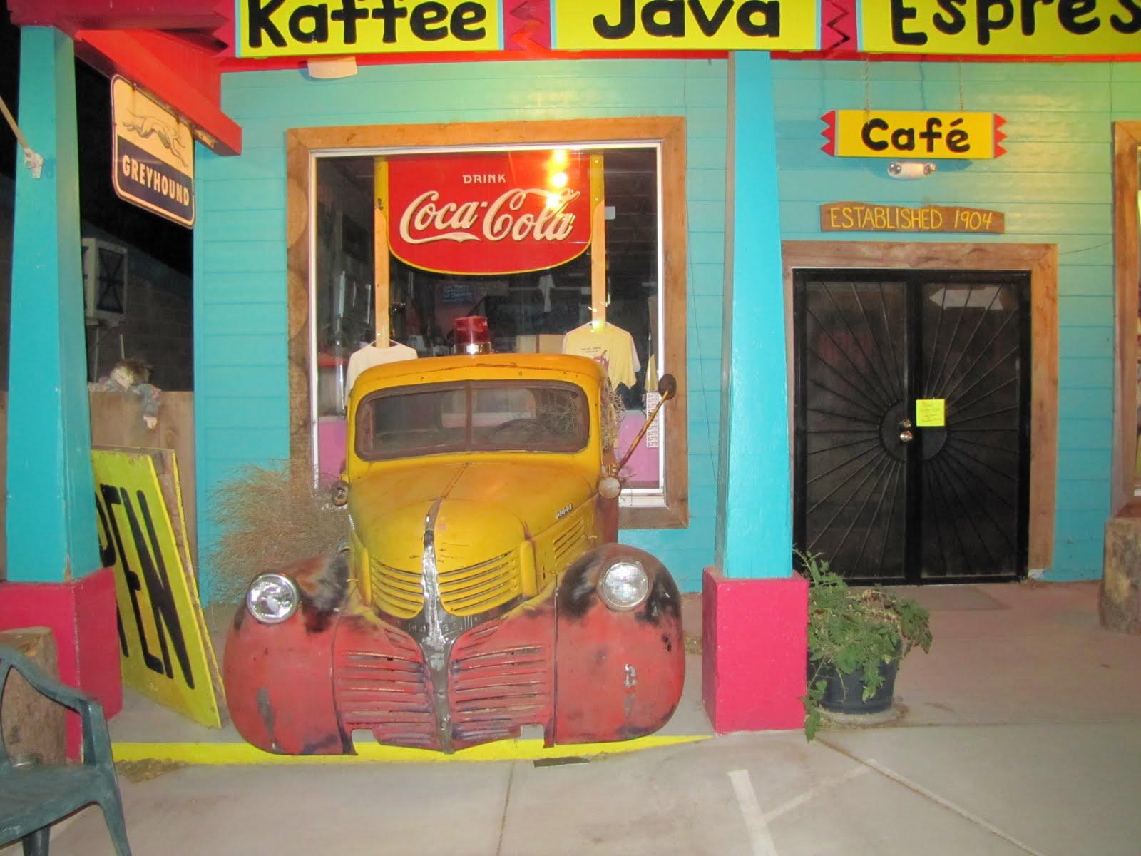 Route 66, Arizona, 1941 Dodge WC Pickup