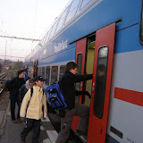 Vláček do Prahy