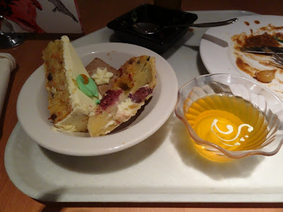 My selection from the dessert offerings