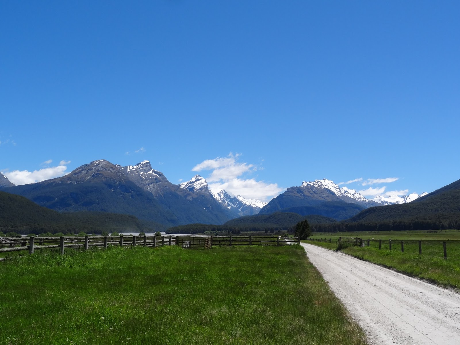 On the road to Paradise (beyond Glenorchy)