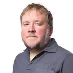 Rasmus Jansson, arbetsledare fastighetstjänst.