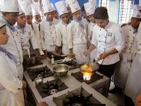 Food Production class by expert Chef from Hyatt, Kolkata