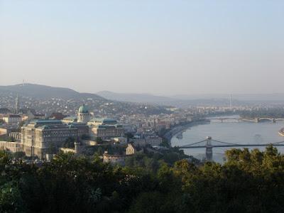 Buda Castle from the Citadella