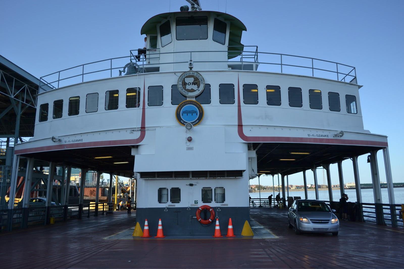 Free ferry to Algiers