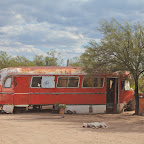 Lost village in the desert