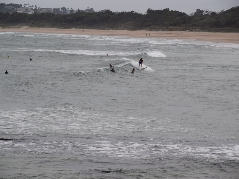u16 girls surf competition at Parks Beach, Coffs Harbour