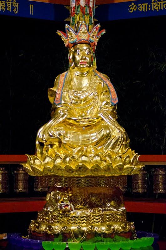 Ksitigharba statue at Land of Medicine Buddha