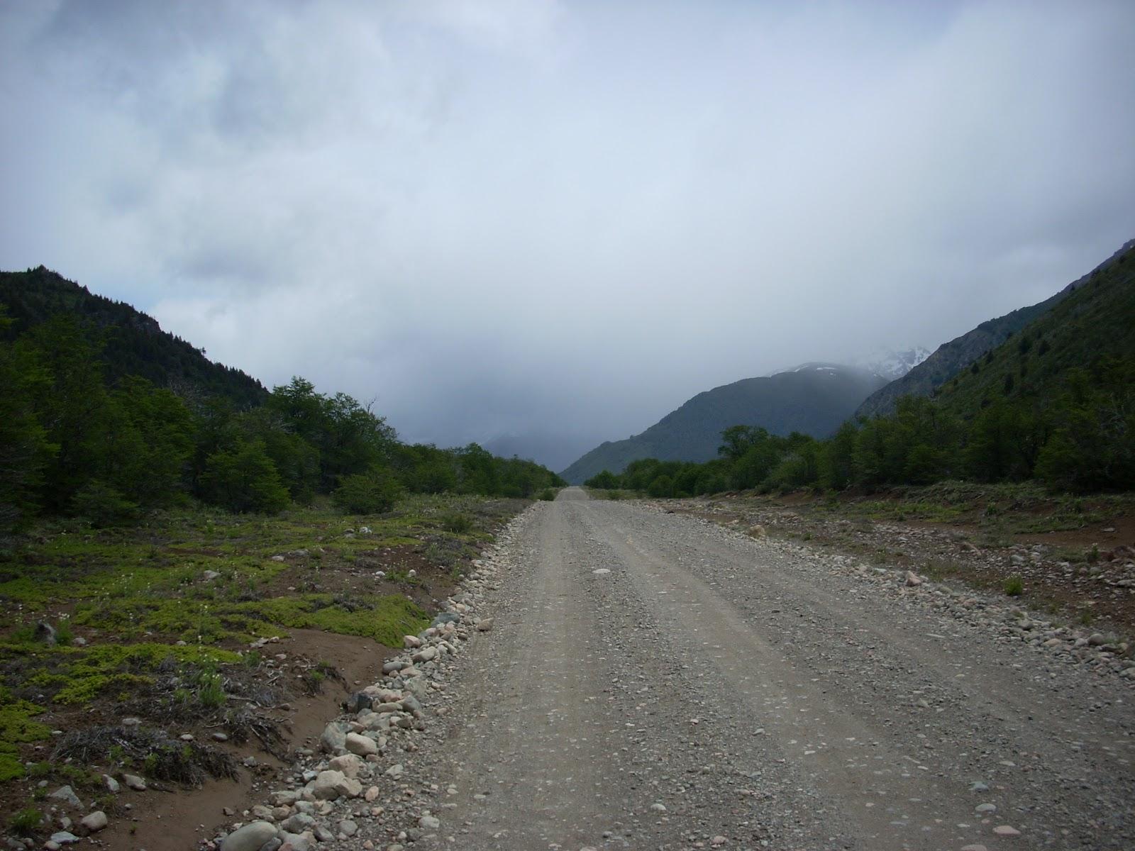 10km dirt road detour