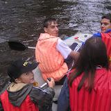 Část posádky prvního raftu