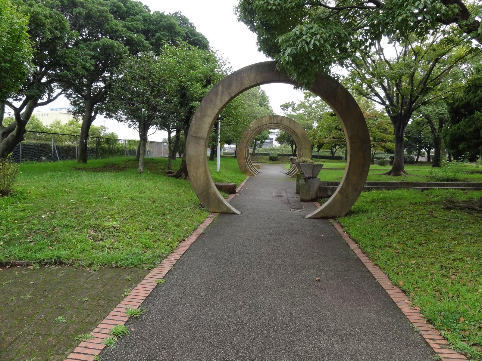 The eastern end of Yamashita Park