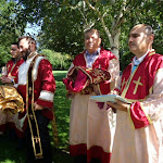 Grapes Blessing. Sunday, 31st August 2014