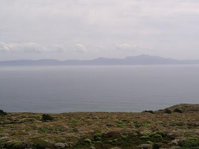 Stewart Island from Bluff Hill
