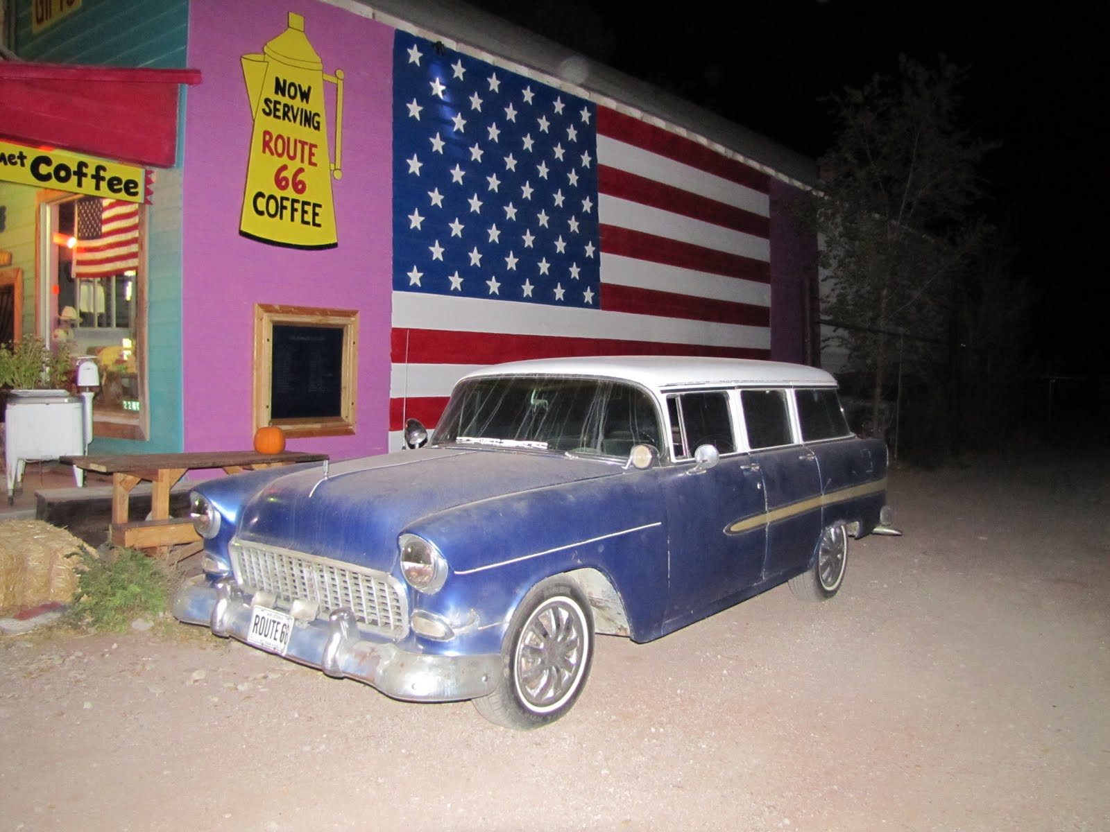 Route 66, Arizona, 1955 Chevrolet 210 Townsman
