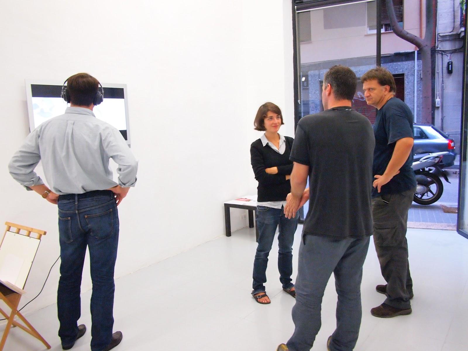 Rafa Castañer: Jardín. Visita guiada a l'exposició.